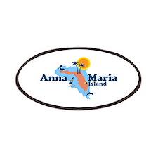 Anna Maria Island - Map Design. Patches