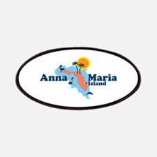 Anna Maria Island - Map Design. Patches