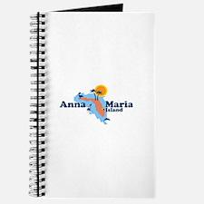 Anna Maria Island - Map Design. Journal