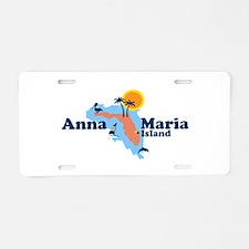 Anna Maria Island - Map Design. Aluminum License P