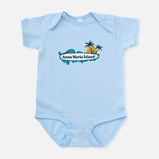 Anna Maria Island - Surf Design. Infant Bodysuit