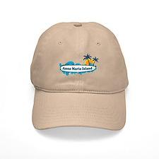 Anna Maria Island - Surf Design. Baseball Cap