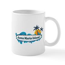 Anna Maria Island - Surf Design. Small Mug
