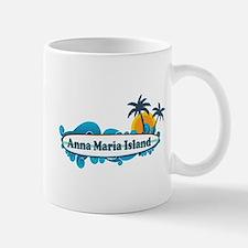Anna Maria Island - Surf Design. Small Small Mug