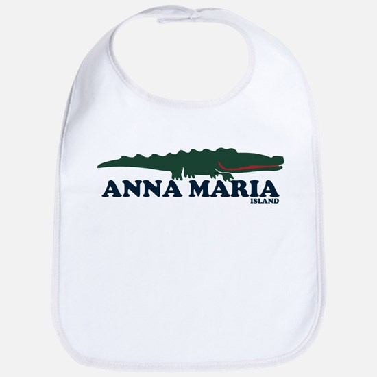 Anna Maria Island - Alligator Design. Bib