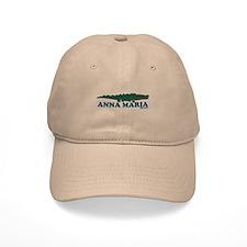 Anna Maria Island - Alligator Design. Baseball Cap