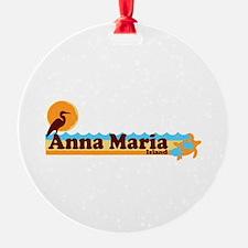 Anna Maria Island - Beach Design. Ornament