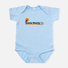 Anna Maria Island - Beach Design. Infant Bodysuit