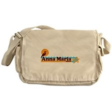 Anna Maria Island - Beach Design. Messenger Bag