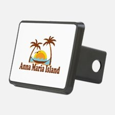 Anna Maria Island - Palm Trees Design. Hitch Cover