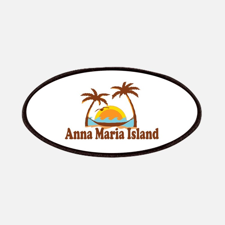 Anna Maria Island - Palm Trees Design. Patches