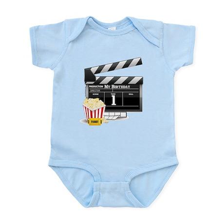 1st Birthday Hollywood Theme Infant Bodysuit