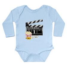 1st Birthday Hollywood Theme Long Sleeve Infant Bo