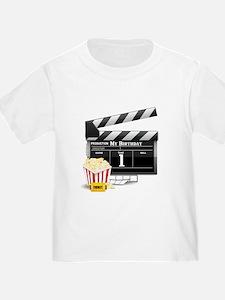 1st Birthday Hollywood Theme T