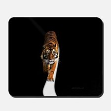 Tiger in the space Mousepad