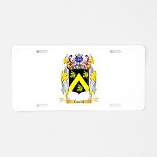 Conrad Aluminum License Plate