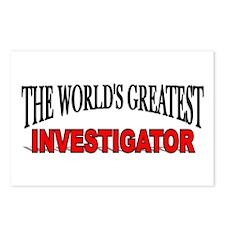 """The World's Greatest Investigator"" Postcards (Pac"