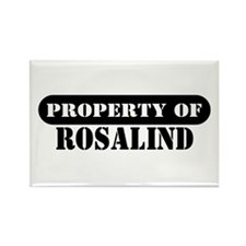 Property of Rosalind Rectangle Magnet