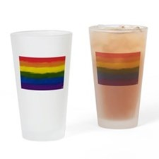 gay pride rainbow art Drinking Glass