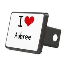 I Love Aubree Hitch Cover