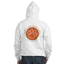 Paw print logo Hoodie