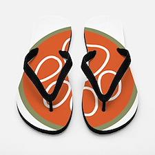 Paw print logo Flip Flops