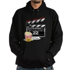 22nd Birthday Hollywood Theme Hoodie