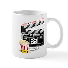 22nd Birthday Hollywood Theme Mug