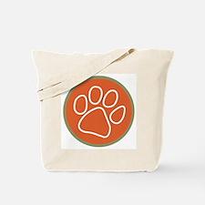 Paw print logo Tote Bag