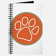 Paw print logo Journal