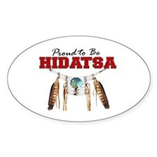 Proud to be Hidatsa Decal