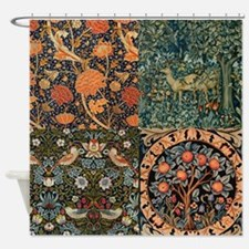 Arts And Craft Shower Curtains Arts And Craft Fabric Shower Curtain Liner