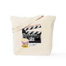 21st Movie Birthday Tote Bag