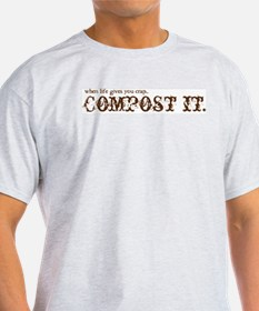 COMPOST IT Generic Tee T-Shirt