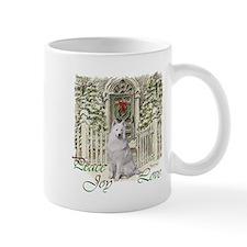 Samoyed Christmas Mug