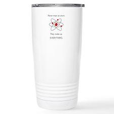 Atoms Make Up Everything Travel Mug