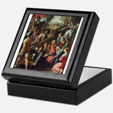 Christ Falling on the Way to Calvary Keepsake Box