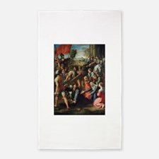 Christ Falling on the Way to Calvary 3'x5' Area Ru