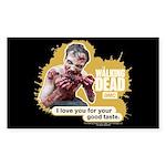 Good Taste Walking Dead Sticker