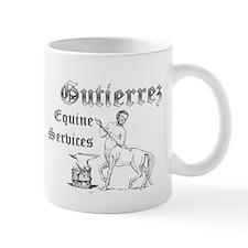 Gutierrez Equine Services Mug