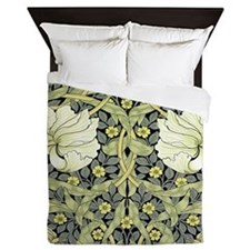 Morris Pimpernel Detail Queen Duvet