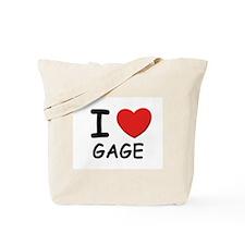 I love Gage Tote Bag