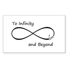 Infinity symbol Decal