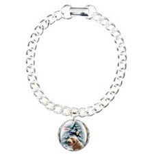 Schnoodle Christmas Charm Bracelet, One Charm