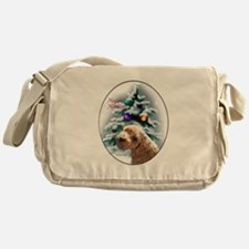 Schnoodle Christmas Messenger Bag