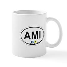 Anna Maria Island - Map Design. Small Mug