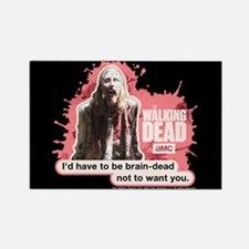 Brain Dead Walking Dead Magnet