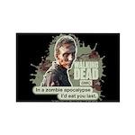 Zombie Apocalypse Walking Dead Magnet