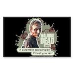 Zombie Apocalypse Walking Dead Sticker