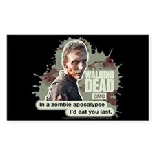 Zombie Apocalypse Walking Dead Decal